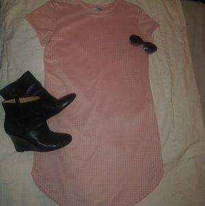Jasmine Pink Cut Out Dress 1X
